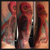best realistic octopus tattoo