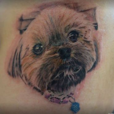 animal portrait tattoos