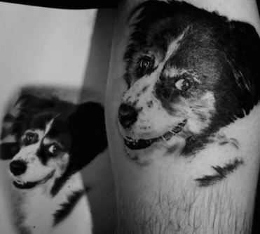 best animal portrait tattoo artist
